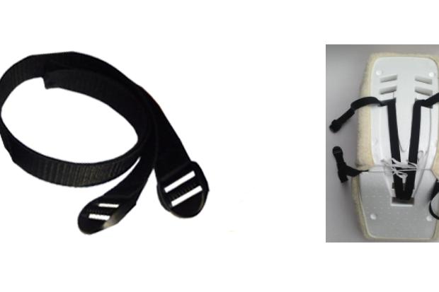 FIETSKAR: spanband en gesp
